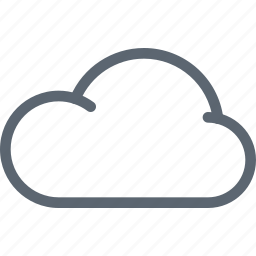 cloud, cloudy, database, forecast, server, storage, weather icon