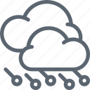 cloud, clouds, forecast, hail, hailstorm, storm, weather icon