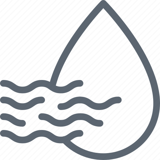 drop, humid, humidity, precipitation, water icon