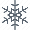 flake, forecast, snow, snowflake, weather, winter icon