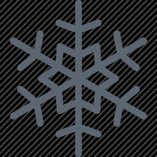 flake, forecast, snow, snowflake, weather, winter icon
