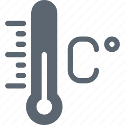 celsius, degree, forecast, temperature, thermometer, weather icon