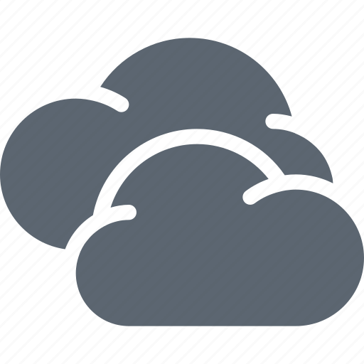 cloud, clouds, cloudy, forecast, server, storage, weather icon