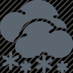 cold, forecast, snow, snowflake, weather, winter icon