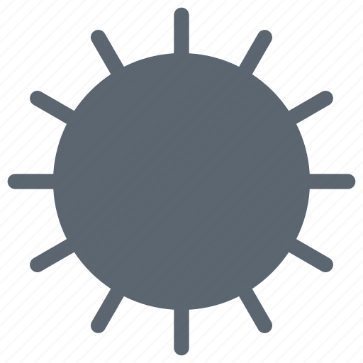day, forecast, hot, sun, weather icon