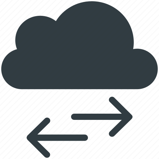 Arrows, cloud, cloud computing concept, cloud technology, directions icon - Download on Iconfinder