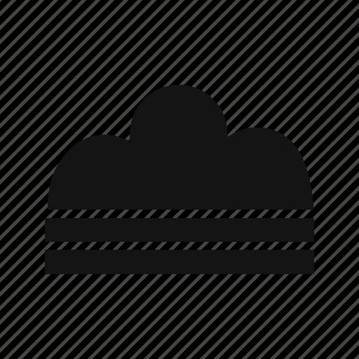 cloud, fog, foggy, haze icon