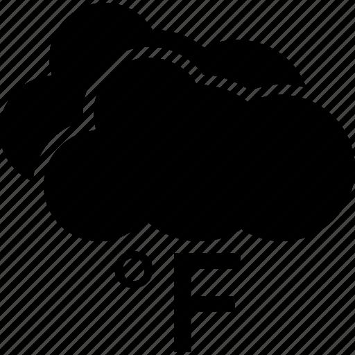 fahrenheit, meteorology, temperature degree, temperature scale, weather temperature icon