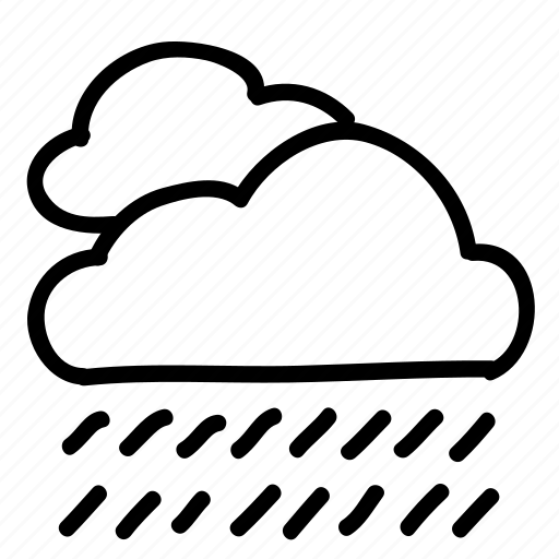 cloud, clouds, forecast, rain, rainclouds, sky, weather icon