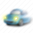 car, danger, driving, fog, forecast, haze, weather icon