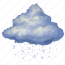snow, night, weather, forecast, cloud, winter, cloudy