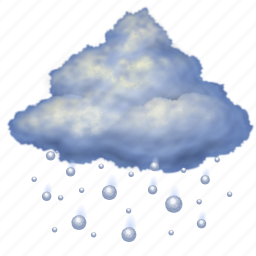 forecast, hail, night, rain, snow, storm, weather icon