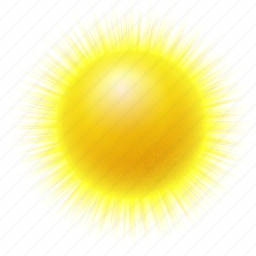 clear, forecast, hot, sun, sunny, warm, weather icon