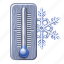 chilly, cold, forecast, freeze, snow, weather, winter icon