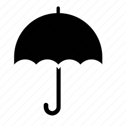 object, rain, umbrella, weather icon