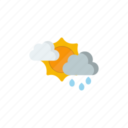 rain, sunny icon