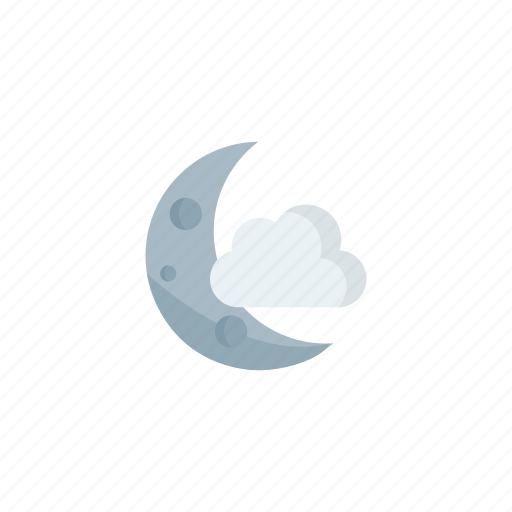 clear, night, partly icon