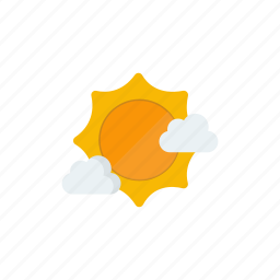 clear, cloud, sunny icon