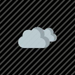 cloudy, rain icon