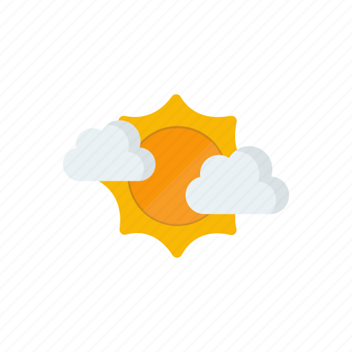 clear, cloudy, sunny icon
