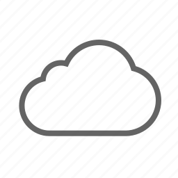 cloud, forecast, rain, sky, snow, weather icon