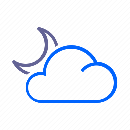 clear, night, weather icon