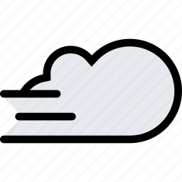 cloud, fog, nature, weather icon