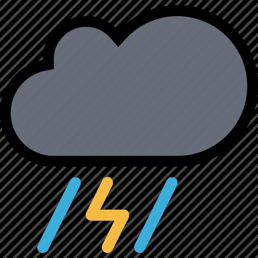 cloud, nature, rain, storm, weather icon