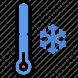 nature, temperature, thermometer, weather icon