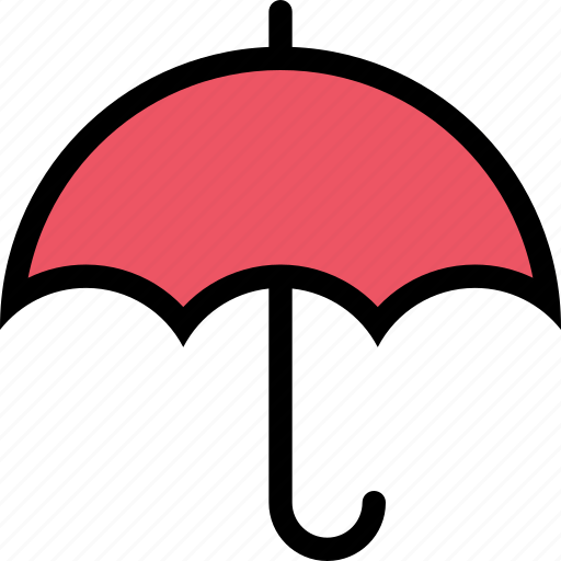 insurance, nature, protection, umbrella, weather icon