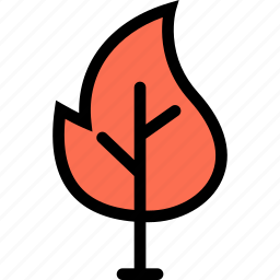 fire, nature, tree, weather, wildfire icon