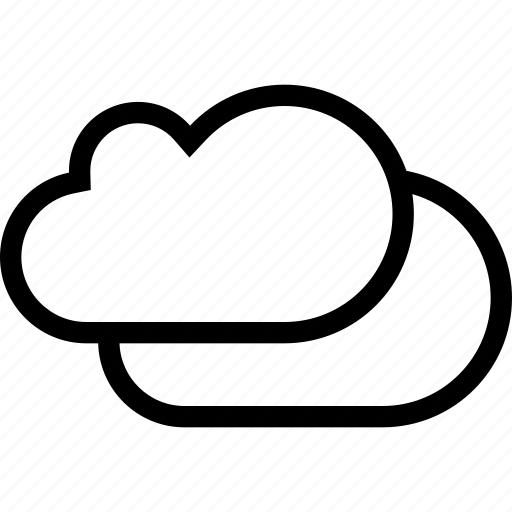 cloud, cloudy, nature, weather icon