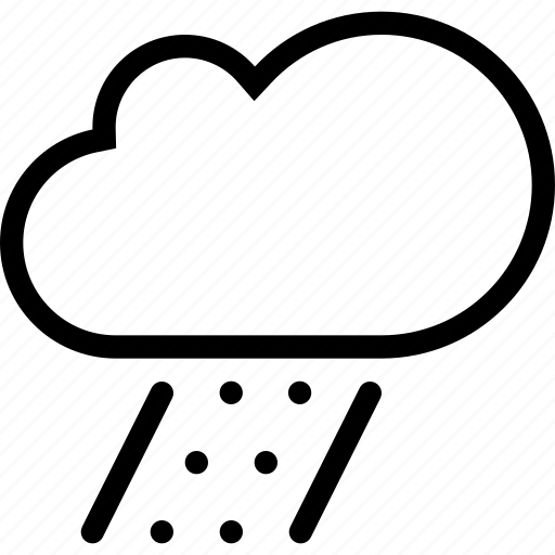 cloud, nature, rain, snow, weather icon