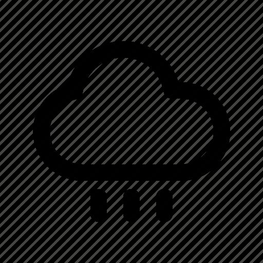 rain, raindrop, rainy, weather icon