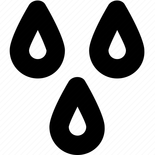 meteorology, rain drops, raindrop, raining, water drops icon
