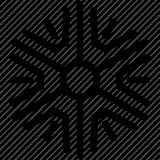 christmas, crystal, decoration, design, snow, snowflake icon