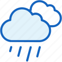 cloud, rain, weather icon
