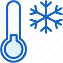 cold, thermometer, weather icon