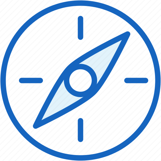 compass, weather icon