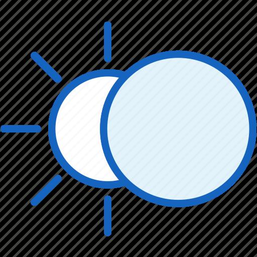 moon, sun, weather icon