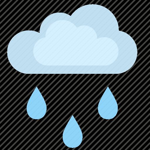 cloud, condition, rain, weather icon