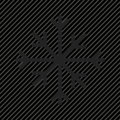 cold, flake, snow, snowflake, weather, winter icon