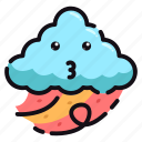 nature, weather, good, day, night, windy icon