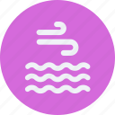 calm, clouds, forecast, vacation, weather icon