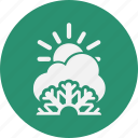 cloud, clouds, day, forecast, vacation, weather icon