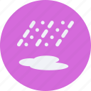 clouds, forecast, raining, vacation, weather icon