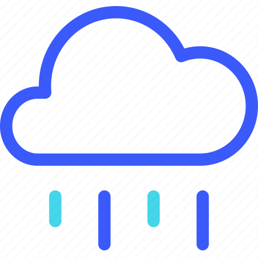 25px, cloud, fall, iconspace, rain icon