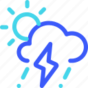 25px, day, iconspace, storm icon