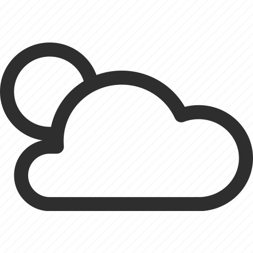 25px, cloud, iconspace, night icon