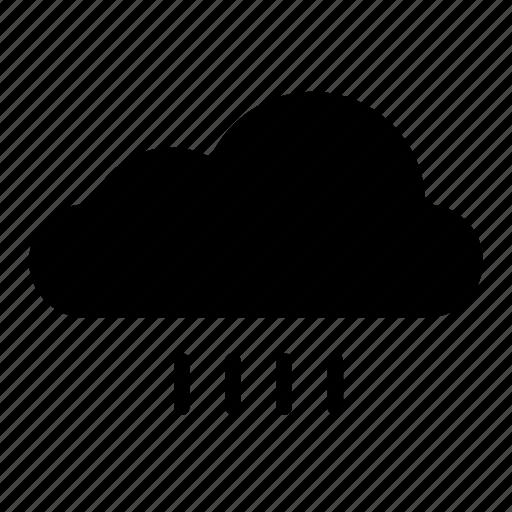 cloud, clouds, nature, precipitation, rain, sky, weather icon